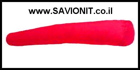 כרית סוכריה בצבע אדום
