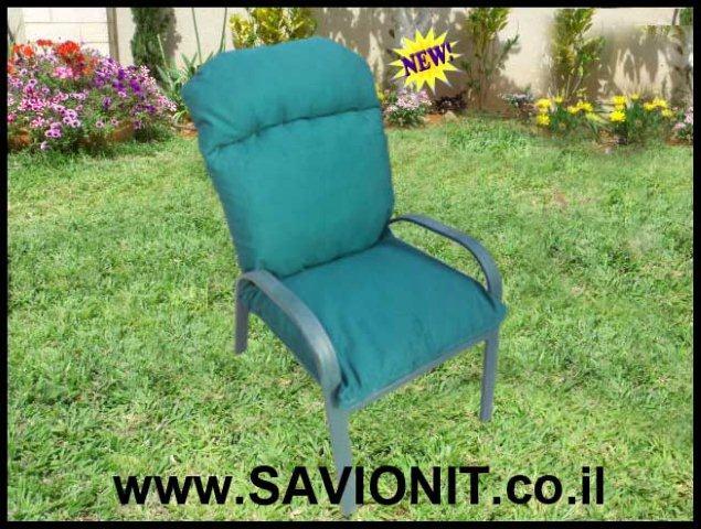 ריפוד לריהוט גן - ריפוד כסאות