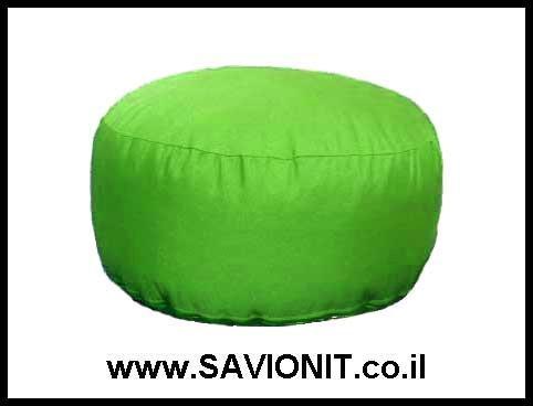 הדום ישיבה בצבע ירוק