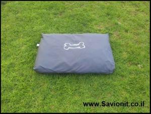 מיטה לכלב - מזרן מלבני אפור